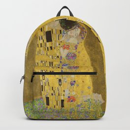 The Kiss by Gustav Klimt Backpack
