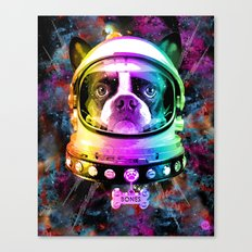Space Dog Canvas Print