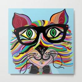 VERY Cool Cat Metal Print