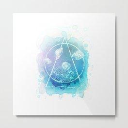 Sacred Jellies Metal Print