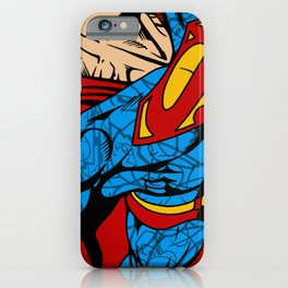Red Yellow and Blue Steel  iPhone Case