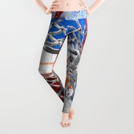 Contemporary basketball 3 Leggings