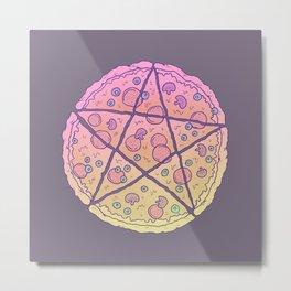 Pizza Power! Metal Print