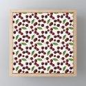 Cherries on White Background by twentyninetones
