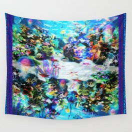 """""""Sealife, SeeLife!"""" by surrealpete Wall Tapestry"""