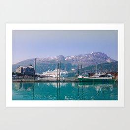 Coastal Vision Board Art Print