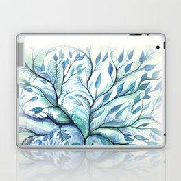 Tree of Life (blues) Laptop & iPad Skin