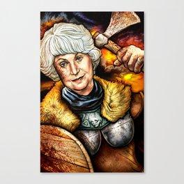 """""""Picture it: Sicily 1061"""" Golden Girls- Bea Arthur Canvas Print"""