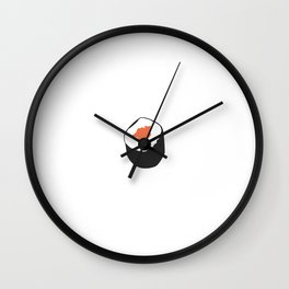 Sushi roll Wall Clock