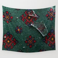 glass Wall Tapestries featuring Glass by floor-pies