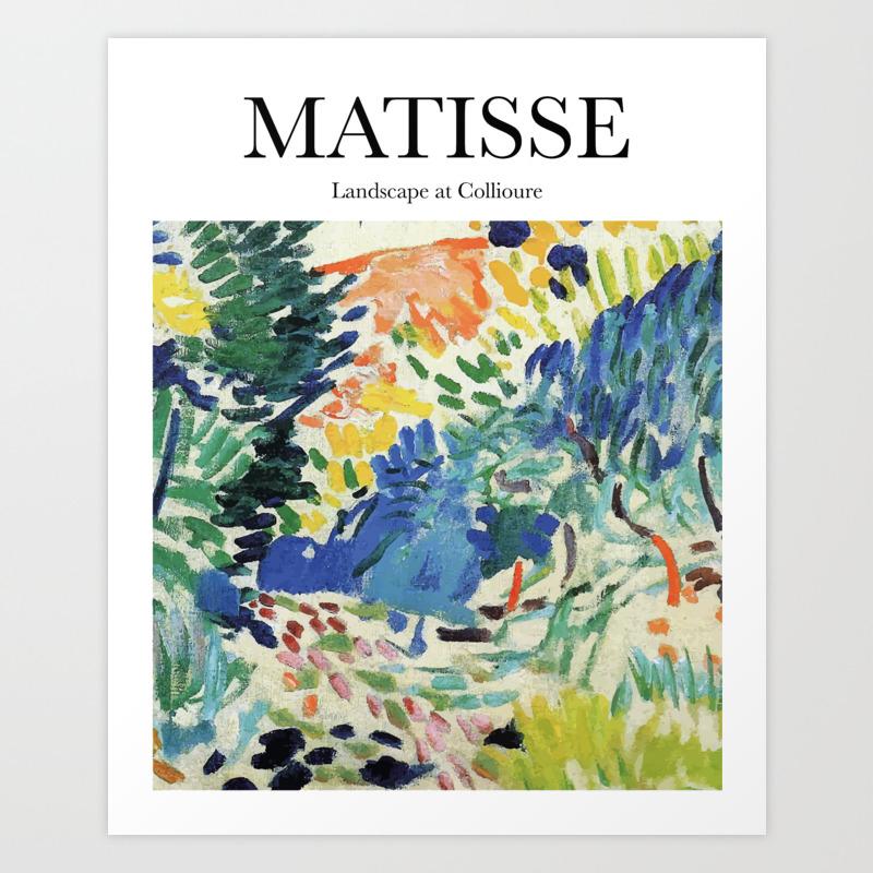 Matisse   Landscape at Collioure Art Print