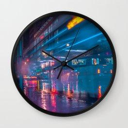 New York Future City Wall Clock