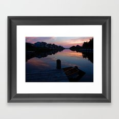 Silhouettes in Frisco Framed Art Print