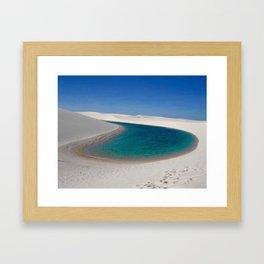 DESERT OASIS Framed Art Print