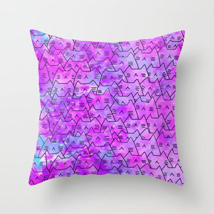 cats 613 Throw Pillow