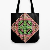diamond Tote Bags featuring Diamond by Lyle Hatch