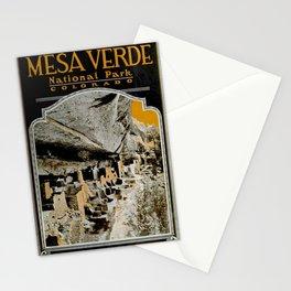 Vintage Mesa Verde National Park Poster (1919) Stationery Cards