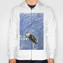 Blue Heron Hoody