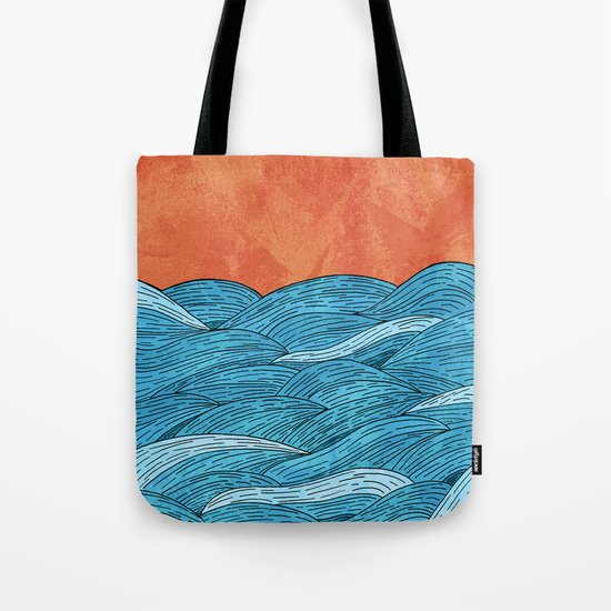 The Blue Sea Tote Bag