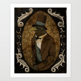 Crobraham Lincoln Art Print
