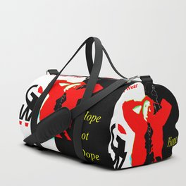 GRAFFITI WEAR...times red Duffle Bag