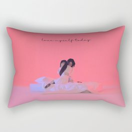 "LOONA Olivia Hye ""Egoist"" - love myself today Rectangular Pillow"