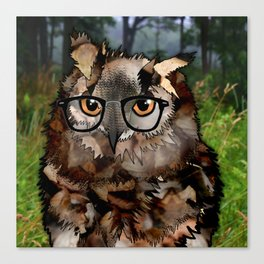 Owl's Good in the Woods Canvas Print