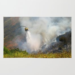Barnett Fire Rug