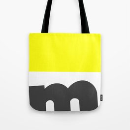 Typographical Abstract  Design Tote Bag