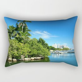 Key Biscane Bay Rectangular Pillow