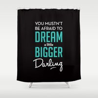 inception Shower Curtains featuring Inception by mydeardear