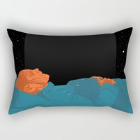 2001 Rectangular Pillows featuring 2001: A Space Odyssey  by Stephanie Shafer