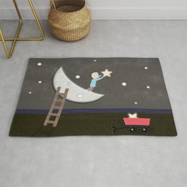 Reach for the stars Rug