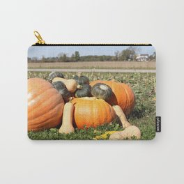 Autumn Fall Pumpkins and Gourds Carry-All Pouch