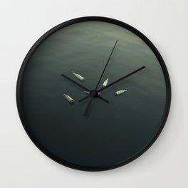 Floating still life Wall Clock