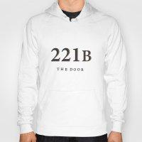 221b Hoodies featuring No. 6. 221B by F. C. Brooks