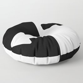 Left or Right Floor Pillow