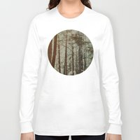 oregon Long Sleeve T-shirts featuring Oregon Woods by Leah Flores