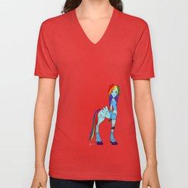 Rainbow Dash My Little Pony Unisex V-Neck