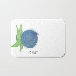 I've Got the Blues • Rustic Blueberry Bath Mat