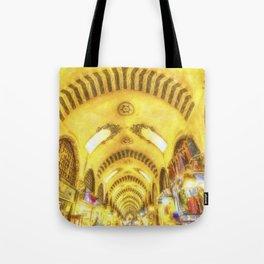 The Spice Bazaar Istanbul Art Tote Bag