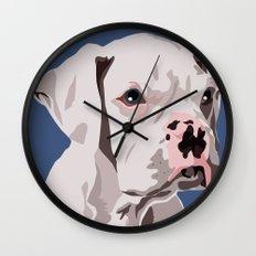 WhiteDog Wall Clock