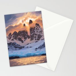Arctic Pass Stationery Cards
