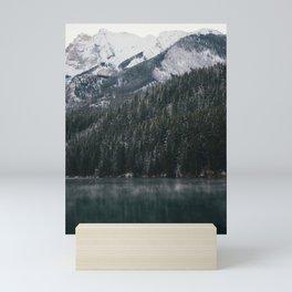 Foggy Lake Mini Art Print