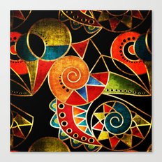 Abstraction - Carnival Canvas Print
