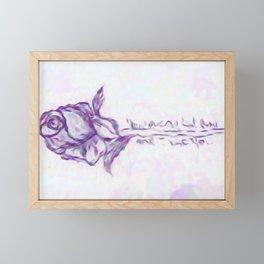 For my Godsent Framed Mini Art Print
