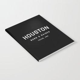 Houston - TX, USA (Arc) Notebook