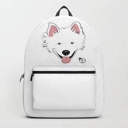 American Eskimo Face Backpack