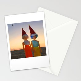 Hazel & Loy Beach Stationery Cards