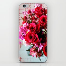 Hearts And Flowers iPhone Skin